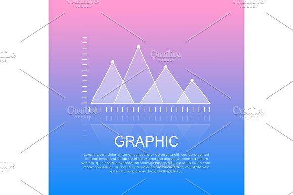 Graphic Diagram With Triangular Marks Report