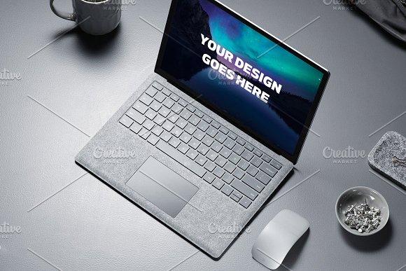 Microsoft Surface Laptop Mock-up#5