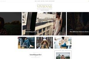 Classic Wordpress Theme - Vivienne