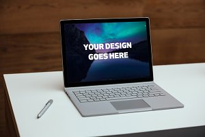 Microsoft Surface Laptop Mock-up#9