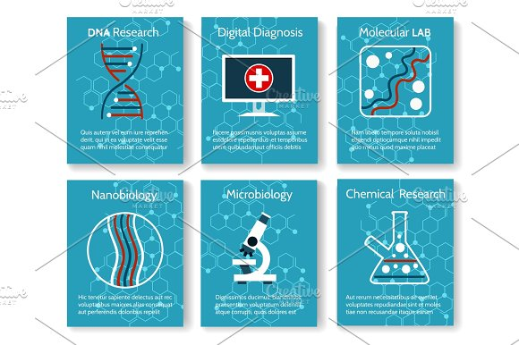 Nanobiology And Microbiology Research Cards
