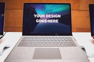 Microsoft Surface Laptop Mock-up#11