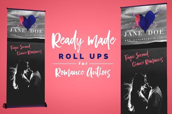 Roll Up Banner For Romance Authors 3