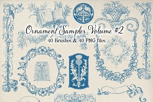 Decorative Ornament Sampler - Vol. 2