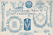 Decorative Ornament Sampler - Vol. 2
