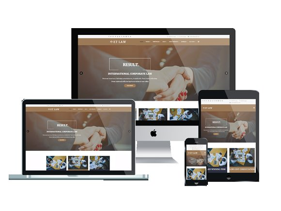 ET Law Law Joomla Template