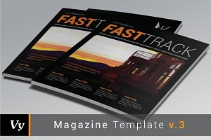 Magazine Template vol. 03