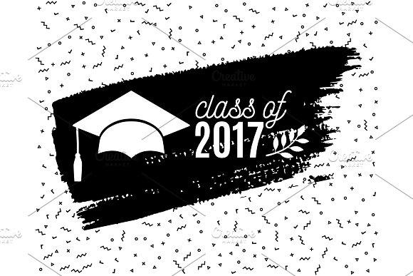 Class Of 2017 Graduate Greeting Card