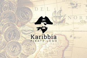 Karibbia : Pirate Logo