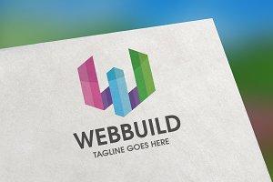 WebBuild (Letter W) Logo