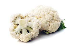cauliflower isolated