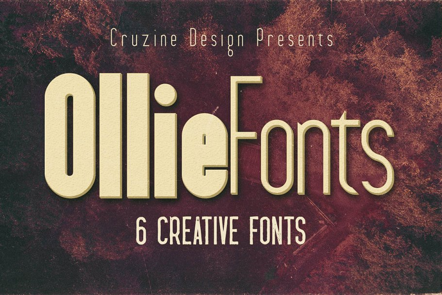 Ollie Typeface ~ Display Fonts ~ Creative Market