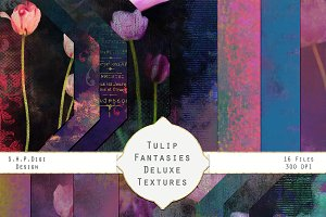 Tulip Fantasies Garden Texture Set