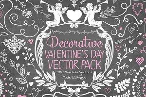 Vintage Valentine Vector Bundle