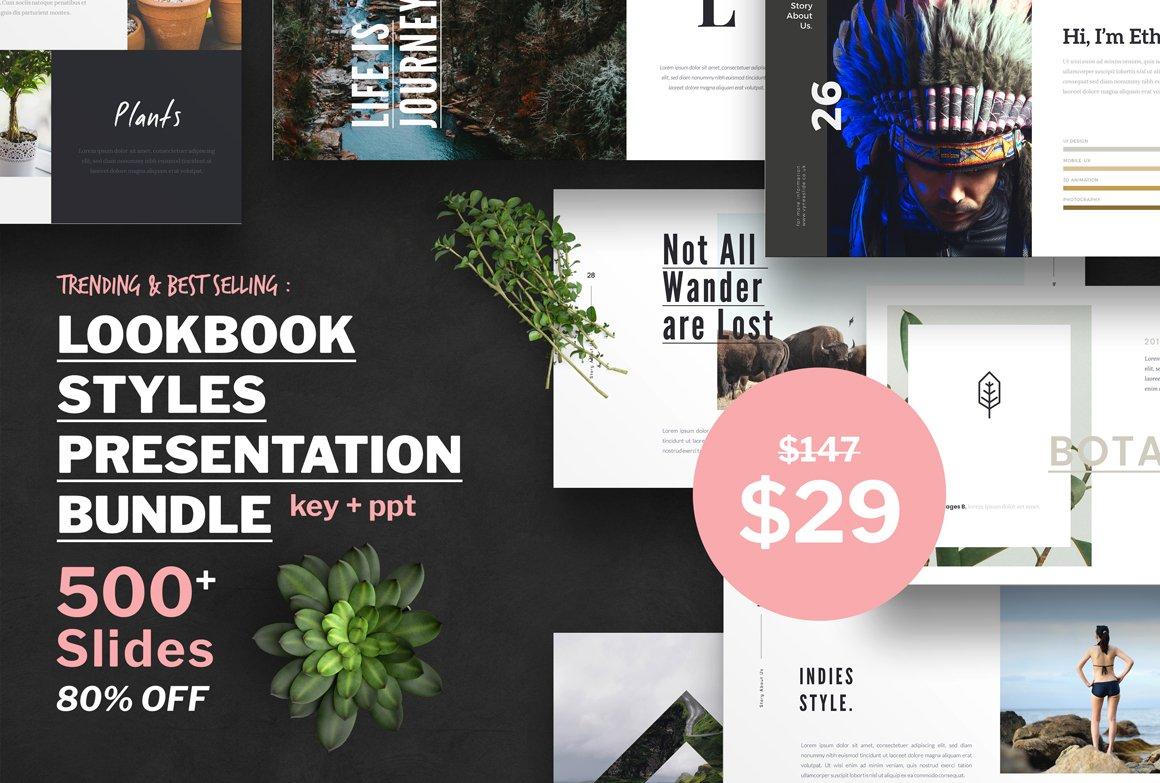 Lookbook style presentation bundle presentation templates lookbook style presentation bundle presentation templates creative market toneelgroepblik Image collections