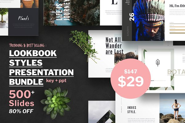 Lookbook Style Presentation Bundle