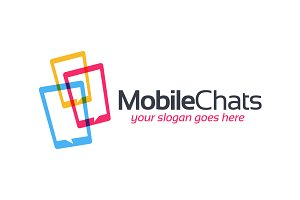 Mobile Chat Technology Symbol