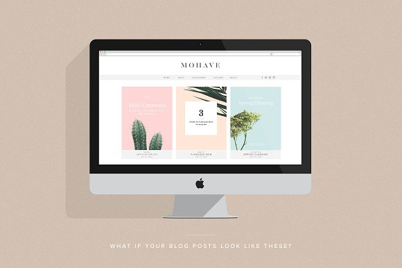 Mohave Blogger Pack