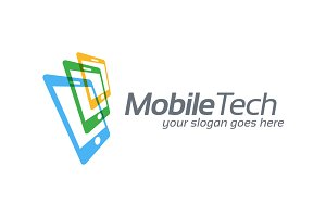 Mobile Technology Business Symbol