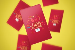 Back To School Lettering Stickers