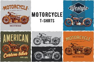Motorcycle T-shirts Designs