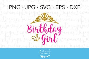Birthday Girl SVG Cut File