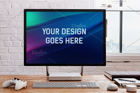 Download Microsoft Surface Studio Mock-up#6