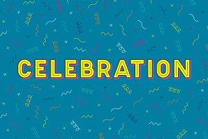 Celebration Typeface