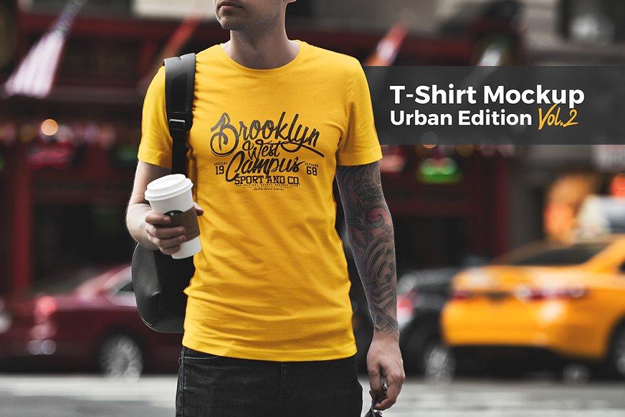 b0457e71 T-Shirt Mockup / Urban Edition ~ Product Mockups ~ Creative Market