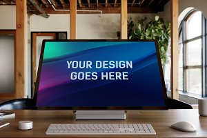Microsoft Surface Studio Mock-up#9