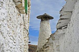 narrow street in the Alpujarra