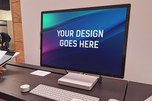 Microsoft Surface Studio Mock-up#10