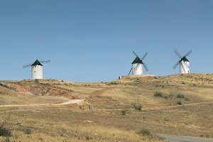 Spanish Old windmills