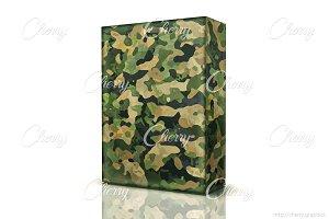 Blank military box