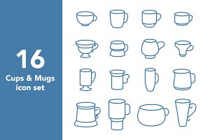 Cups & Mugs set