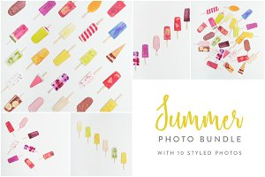 Summer Photo Bundle - Ice Lollies