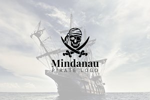 Mindanau : Pirate Logo