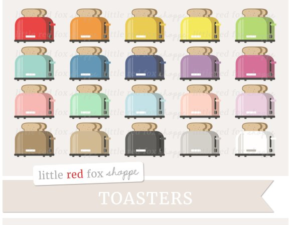 Toaster Clipart