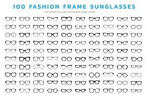 Eyeglasses Frames ( Vector & PSD)