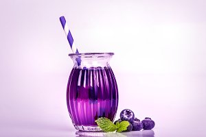 Fresh Bluberry juice