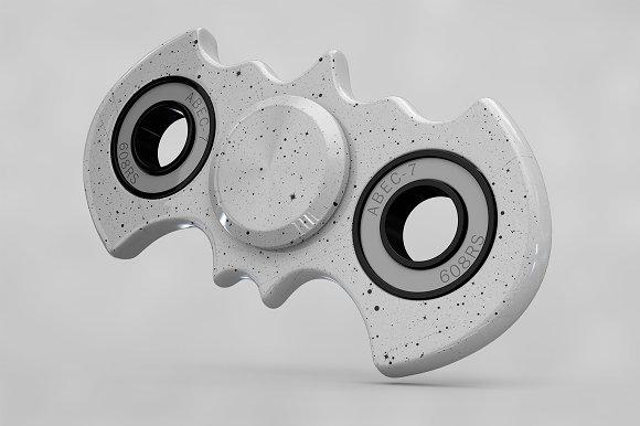 Spinner Fidget Batman MockUp