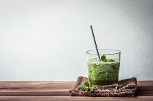green smoothie juice by  in Health