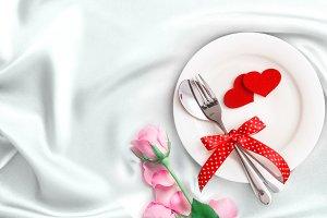 White love dinner