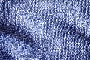 blue jeans surface with wave texture