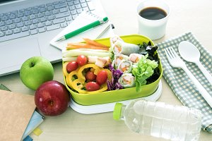 Healthy eating clean food habits