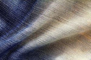 Blue jeans surface
