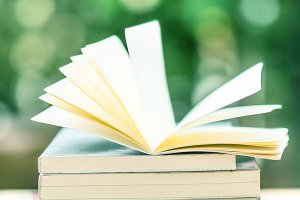 open the book in beauty nature bokeh