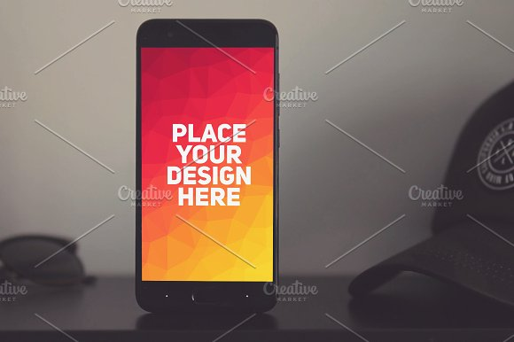 Xiaomi Mi6 Mock-up #4