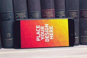 Xiaomi Mi6 Mock-up #17