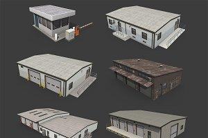 Industrial Buildings Pack